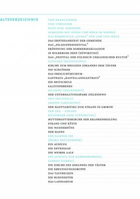 Gemeinde Kolberg - Geschichte und touristische Attraktionen strona 3