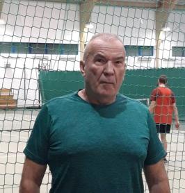 Mistrz Polski w tenisie seniorów.