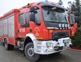 Nowy wóz strażacki OSP Korzystno.
