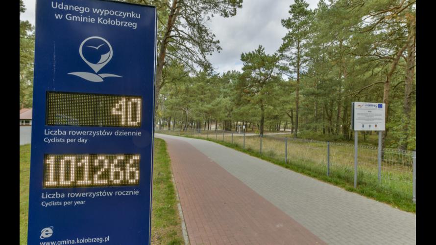 Nowa droga rowerowa w Gminie Kołobrzeg.