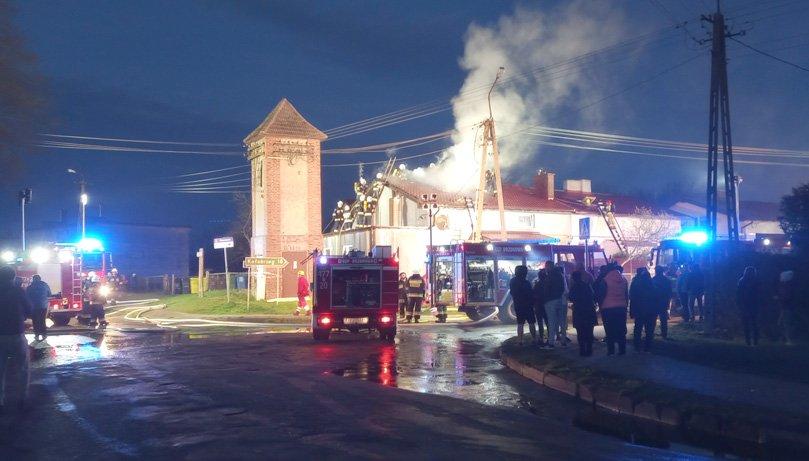Zbiórka na odbudowę domu zniszczonego w pożarze