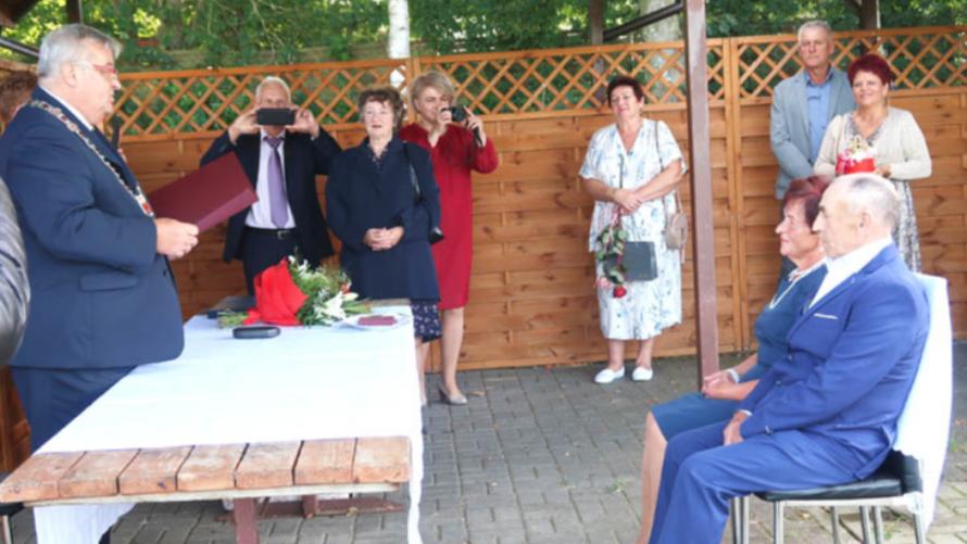 Jubileusz małżeństwa w Rościęcinie