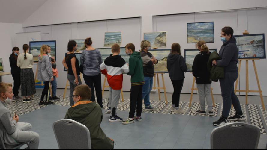 Wystawa malarstwa w Dźwirzynie