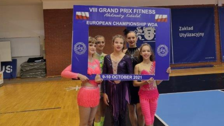 Międzynarodowe sukcesy akrobatek z Gminy Kołobrzeg