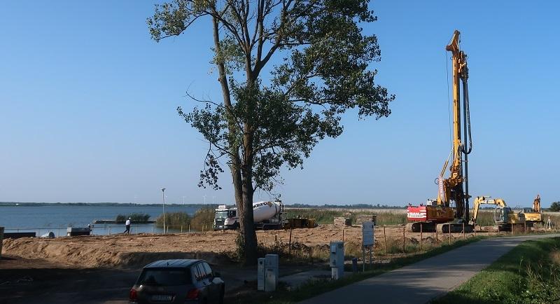 Centrum Sportów Wodnych w Dźwirzynie budowa