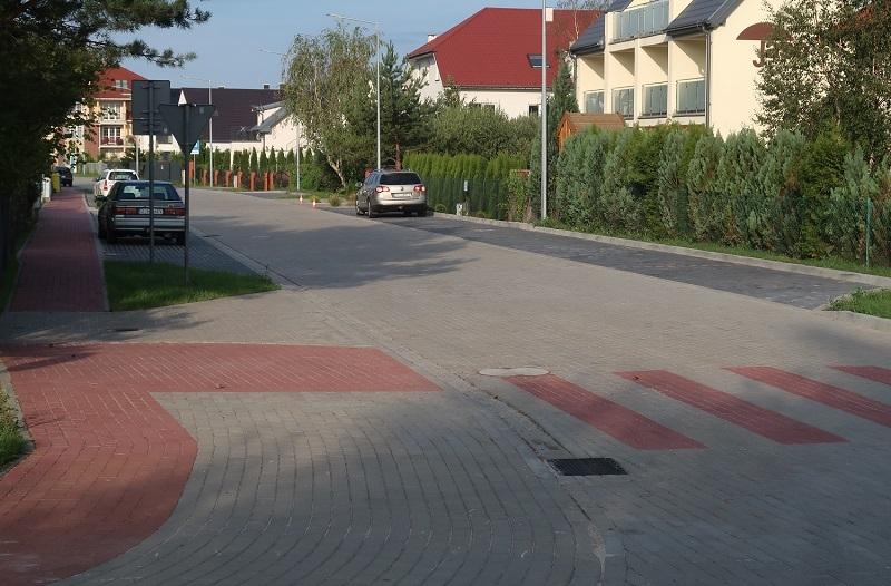 Ulica Wiejska Grzybowo